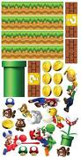 Mario Bros Wall Stickers