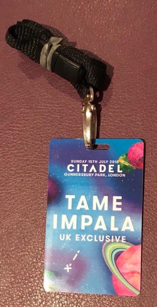 Tame Impala - West London 15 July, Collectors Ticket Citadel Festival  Gunnersbury Park West London | in Holborn, London | Gumtree