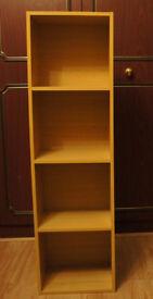 4 Shelf Wooden Bookcase