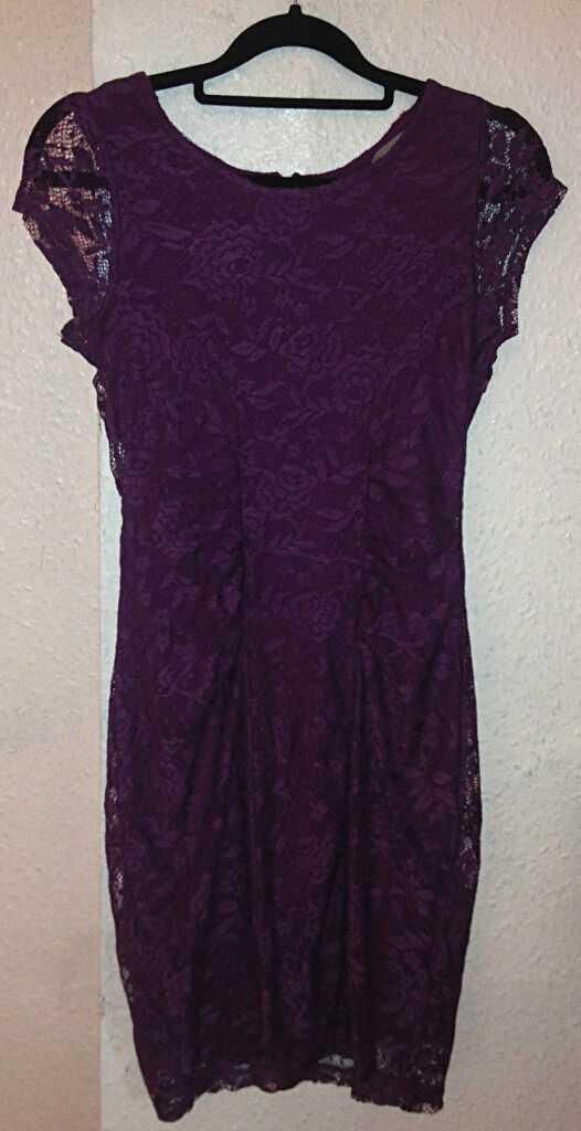 Purple Dress Dorothy Perkins size 8in Moseley, West MidlandsGumtree - Worn 3 times. Very good condition. No faults. You will have to come and collect it