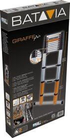 Brand New Batavia Giraffe Air 3.91m, Telescopic Ladder, with Stabiliser 7062759- £90 ono