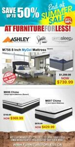 Ashley Mattresses Priced To Sell For A Great Night's Sleep
