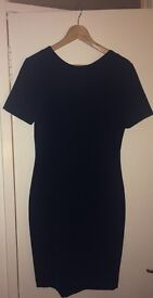 Zara woman's dress with cut out detail
