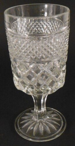 """Anchor Hocking Wexford Large WINE GLASS 6 3/4"""" 8 oz Replacement Single Glass"""
