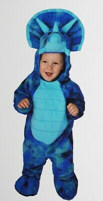 Baby Boys Stegosaurus Blue Dinosaur Halloween Costume 6 12 18 Months Purim  NEW](Stegosaurus Costume)