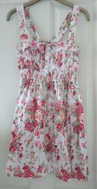 UK size 8 Floral Summer Dress