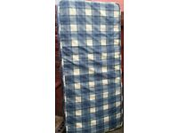spring single mattress. 15cm thick. In good clean condition.