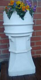 Garden Chimney pots, ideal as planters, see photo