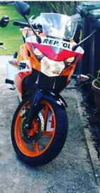 Honda CBR 125R only 350miles on it