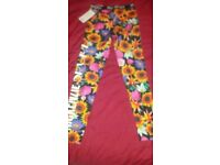 Mckenzie Girls Leggings Age 10-12 New With Tags