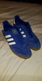 Adidas 350 blue suede