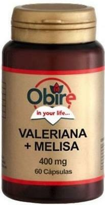 Obire - VALERIANA & MELISSA 400mg da 60 capsule