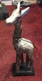 Small distressed giraffe