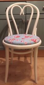 Quaint Dining/Living/Bedroom Chair Painted in any colour & reupholstered in any fabric