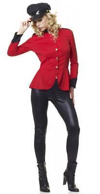 SEXY NEW POP SOLDIER FANCY DRESS UP COSTUME HALLOWEEN MILITARY LADIES SZ 12 - 20