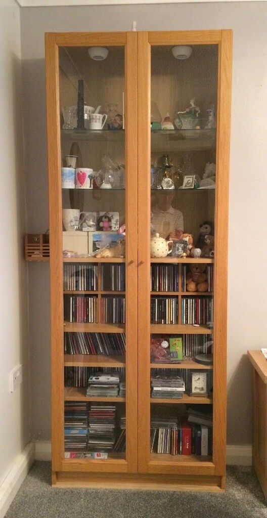 Bookcase With Glass Doors Can Be Used As A Display Cabinet Andor