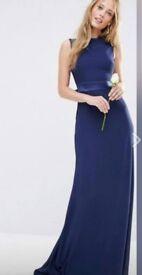 TFNC Bridesmaid Dress - Size 14 - Low back - Bow detail