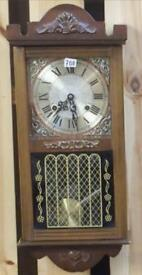 Vintage wall clock in American style
