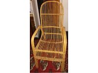 Comfortable Wicker Chair