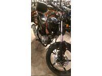Yamaha ybr125 motorbike 2013