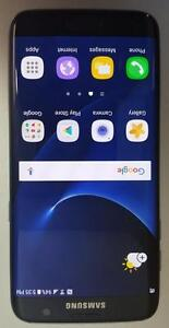 Samsung Galaxy S7 Edge 32GB Black Onyx SM-G935W8 Unlocked Warranty