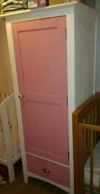 Kids pink wardrobe large