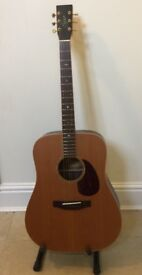 Excellent Full Size Electro Acoustic Guitar