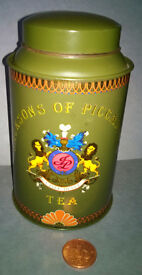 jackson of piccadilly tea caddy