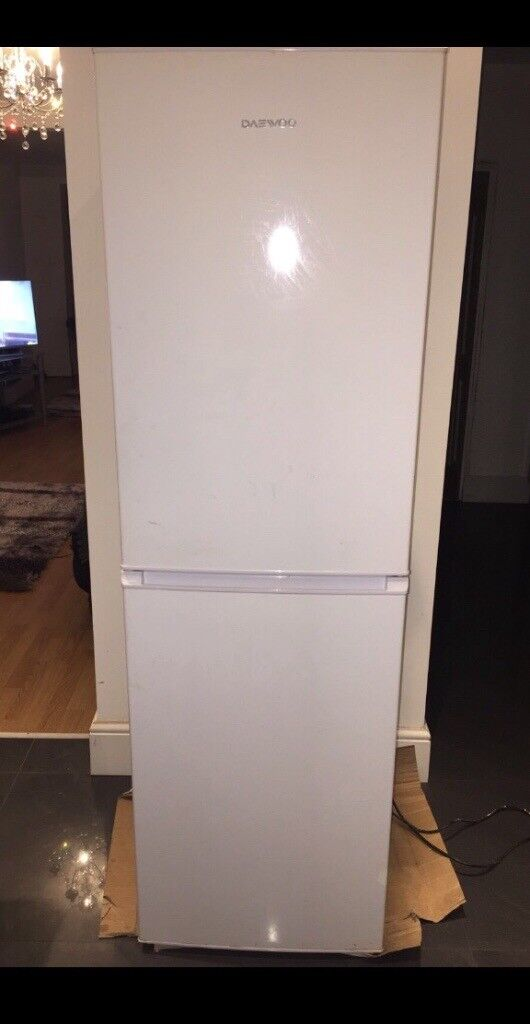 Daewoo fridge freezer.