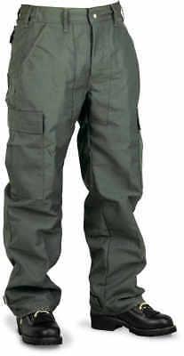 Crew Boss Spruce Green 6.0 Oz. Nomex Iiia Brush Pants Large 35 - 38 Waist 3...
