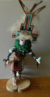 "Used, Native American ""Hemis Home Dancer"" Kachina (Katsina) Doll 24"" Tall By Frank Ami for sale  Jefferson"