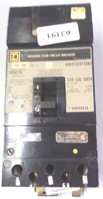 Sq D Ka36150 150a 3p 600v I-line Circuit Breaker