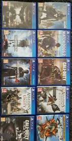 Popular ps4 games bargain!