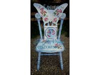 Children's and adult butterfly chairs price comes with personalisation
