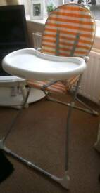 Mothercare Highchair in Excellent Condition
