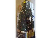 Wilko Best 7Ft Canadian Fir Xmas Tree (artificial) Northwich Cheshire.