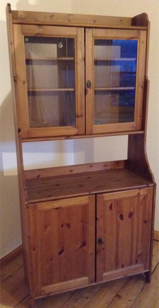 Ikea Pine Kitchen Dresser Mini Bar