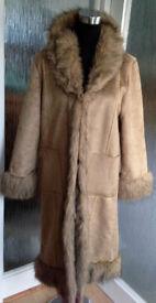 Afghan Coat Size 16