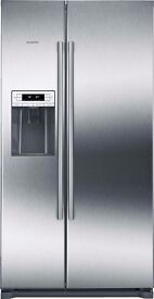 American Fridge Freezer Siemens KA90NV120G EX DISPLAY