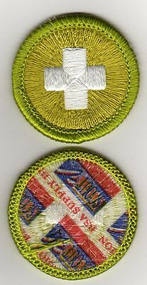 "Safety Merit Badge, Type J ""Scout Stuff"" Back (2002-10), Mint"