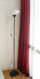 IKEA Tall Floor Standing Lamp with PHILIPS Tornado Bulb 10.000h (10 years)