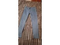 Blue high waist jeans size 12