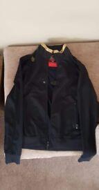Luke, mens jacket, as new, designer. Size large. Cost over £100