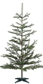 Artificial ikea Christmas tree 170cm tall