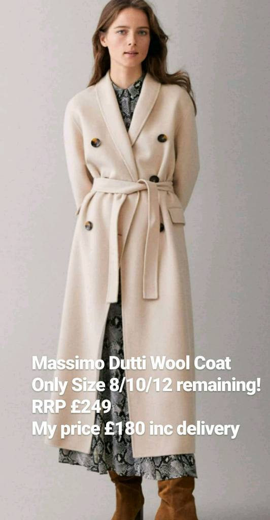 fff11fe1edf Massimo Dutti Wool Coat | in Maidenhead, Berkshire | Gumtree