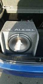 Jl audio sub and amp