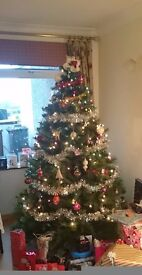 Artificial Christmas Tree - excellent condition