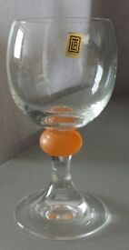 Brand New Siesta wine yellow knob (made in slovakia) set of 6