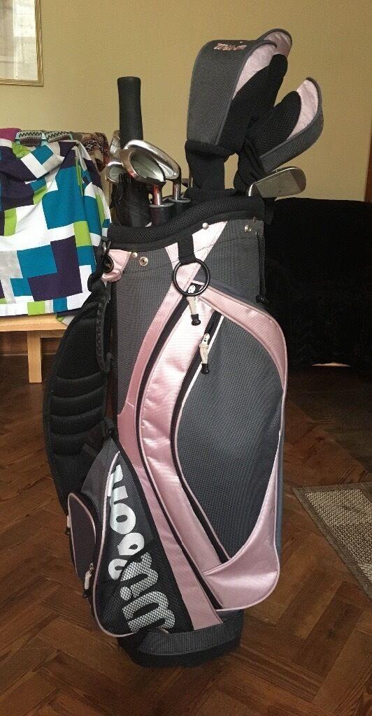 Ladies Wilson X31 Golf Clubs (inc bag)