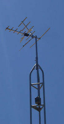 ANTENNA AND TOWER KIT-30FT STEP SERIES 0-50 MILE RANGE